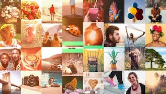 Minimal Clean Multi Image Opener: After Effects Templates
