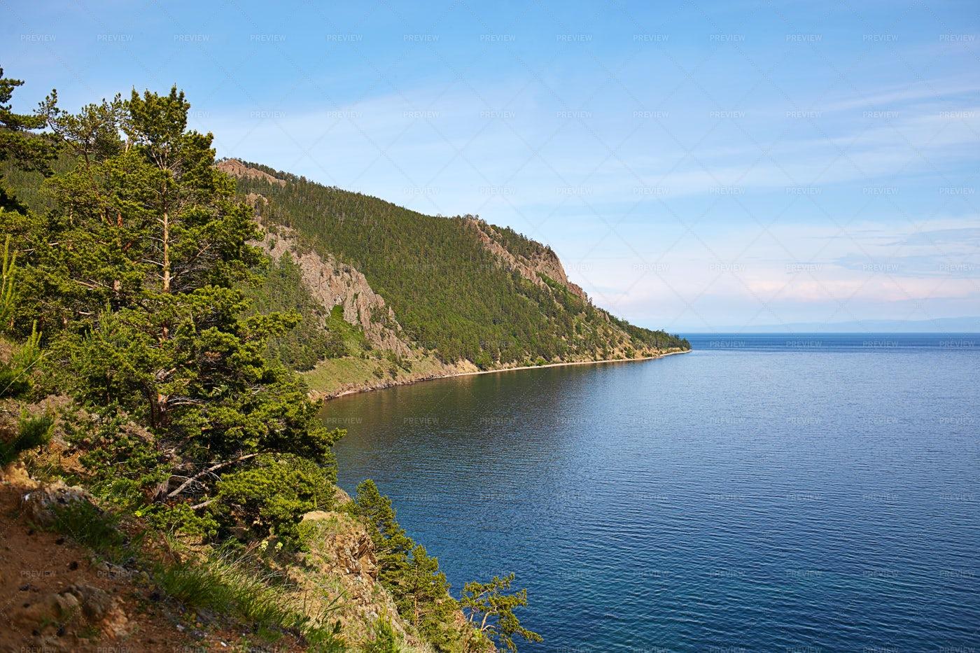 Lake Baikal, Russia: Stock Photos