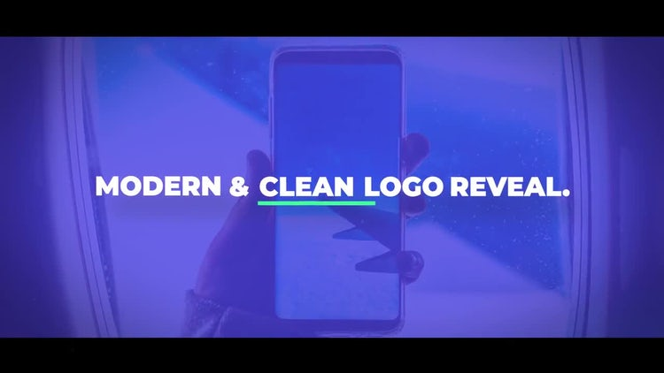 Simple Logo Reveal: After Effects Templates