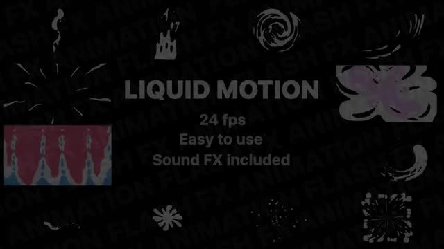 Liquid Motion Elements: Stock Motion Graphics