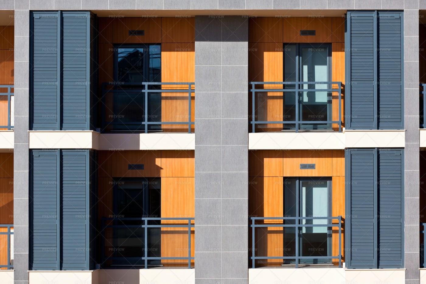Modern Apartment Building: Stock Photos