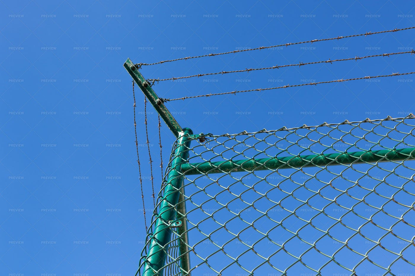 Wire Fence: Stock Photos
