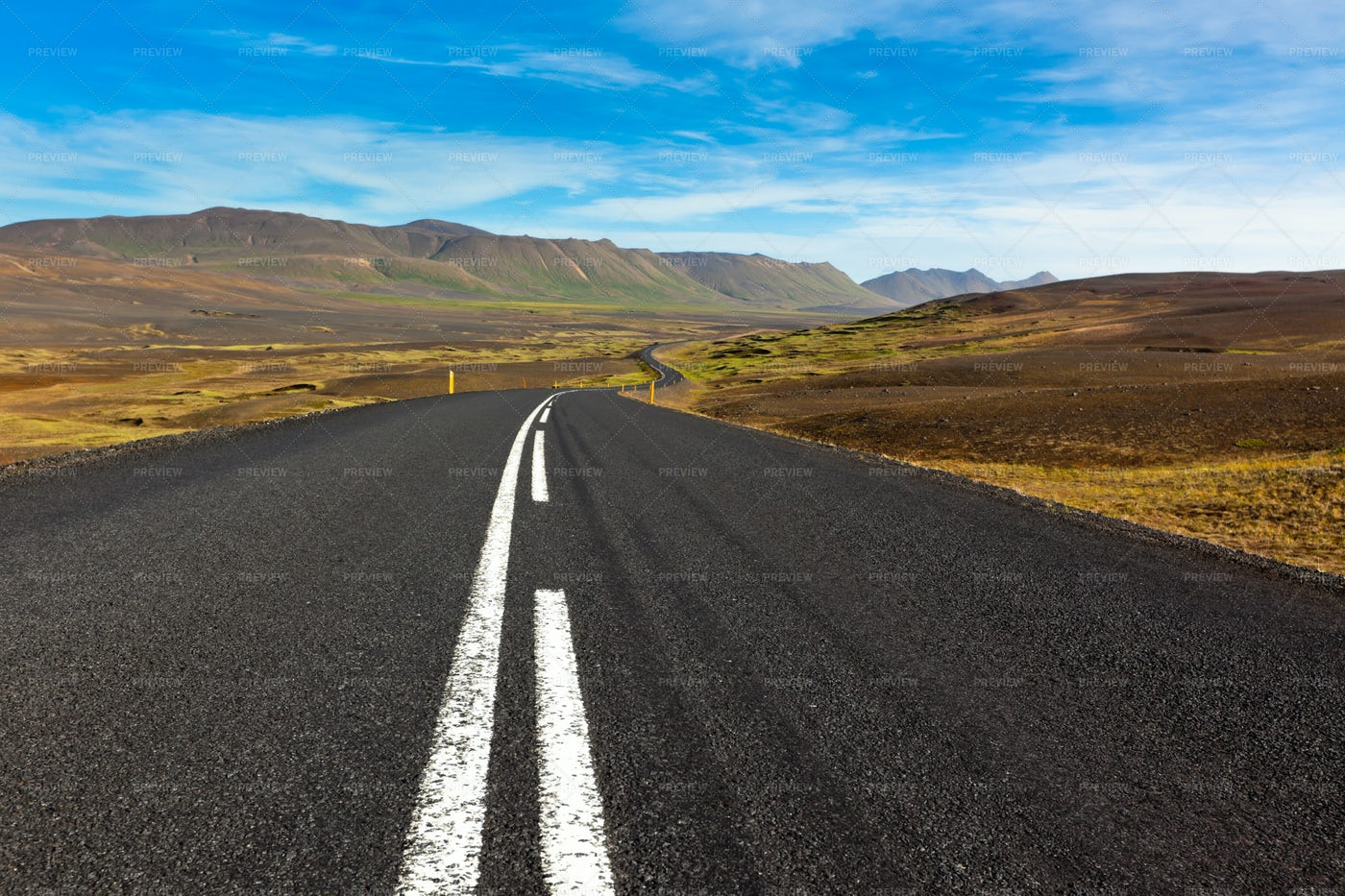 Highway In The Mountains: Stock Photos