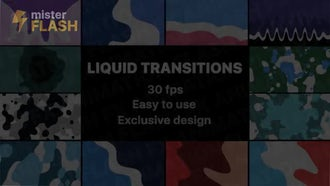Liquid Motion Transitions: Motion Graphics