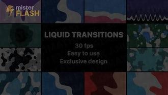 Liquid Motion Transitions: Stock Motion Graphics