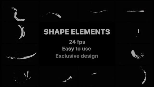 Liquid Shape Elements: After Effects Templates