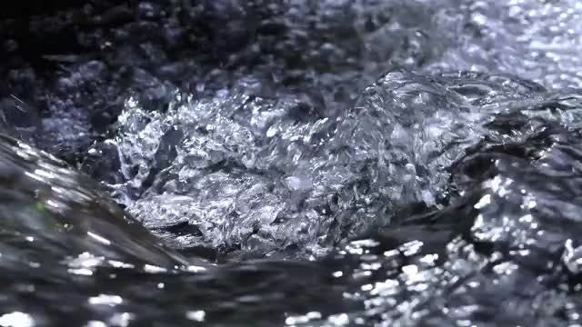 Water Splashing And Frothing : Stock Video