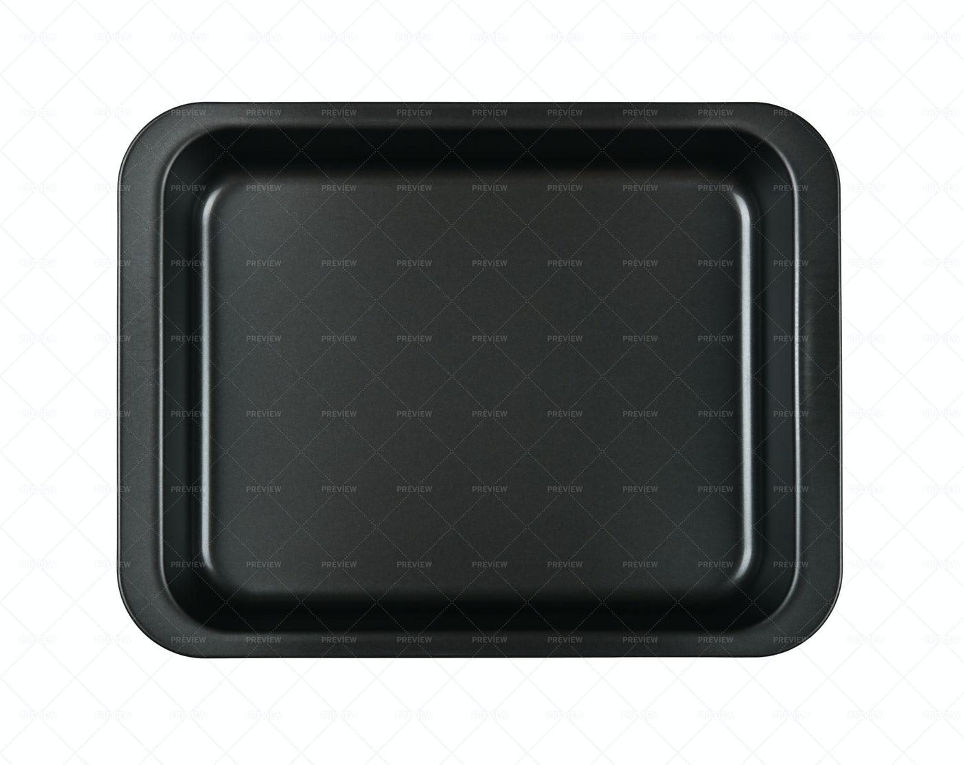 Black Baking Tin: Stock Photos