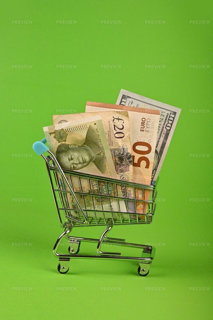 Shopping Cash: Stock Photos