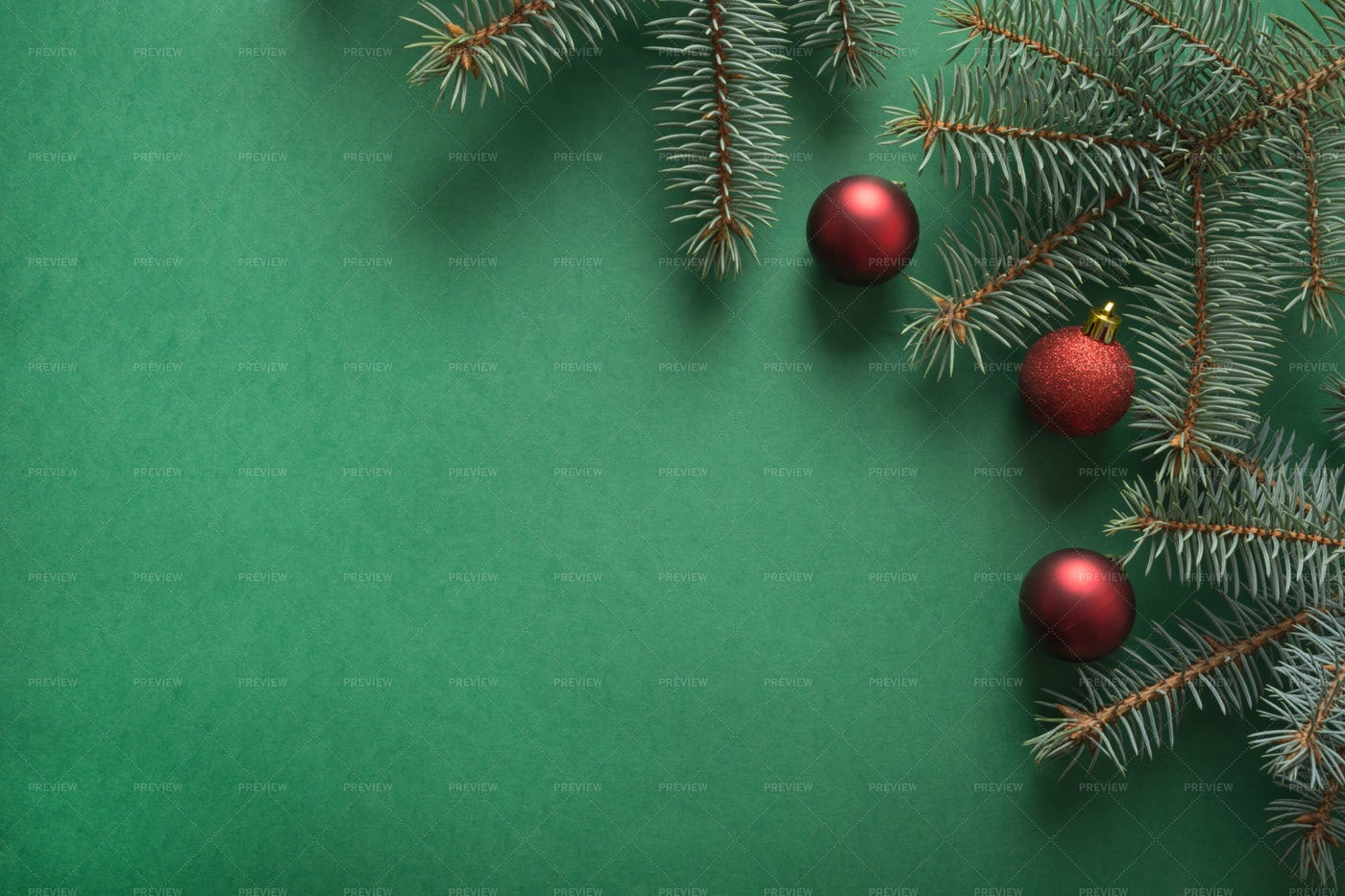 Christmas Tree Branches: Stock Photos