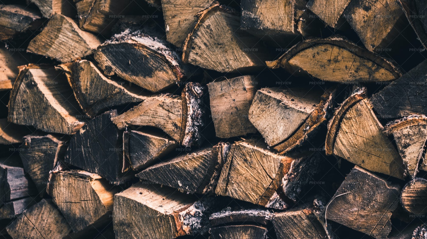 Firewood Background: Stock Photos