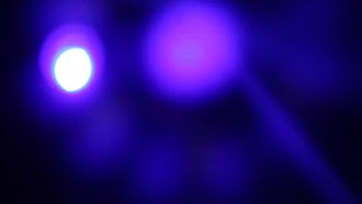 Colored Stage Lights Flashing: Stock Footage