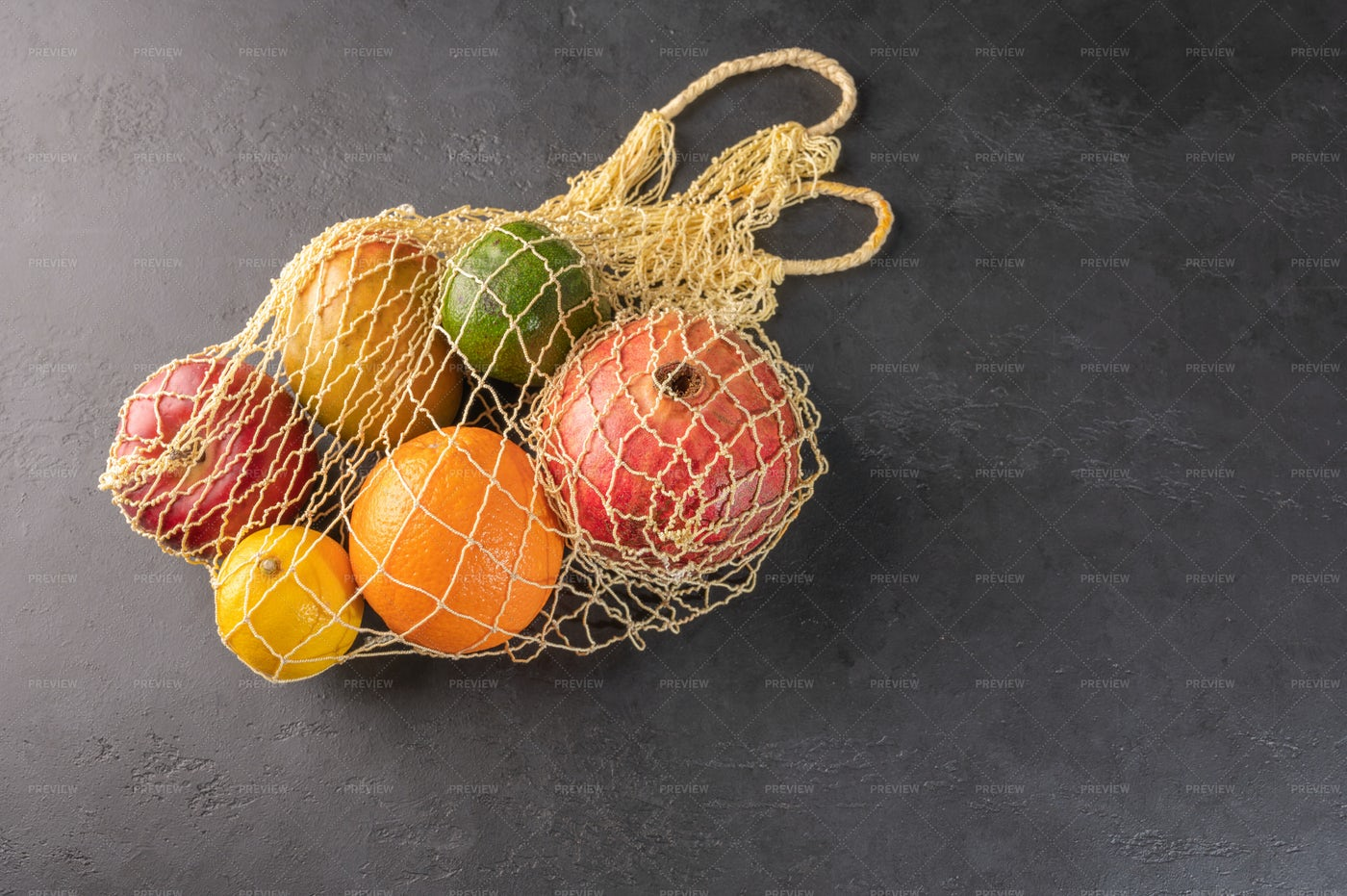 Fruit And Vegetable Bag: Stock Photos