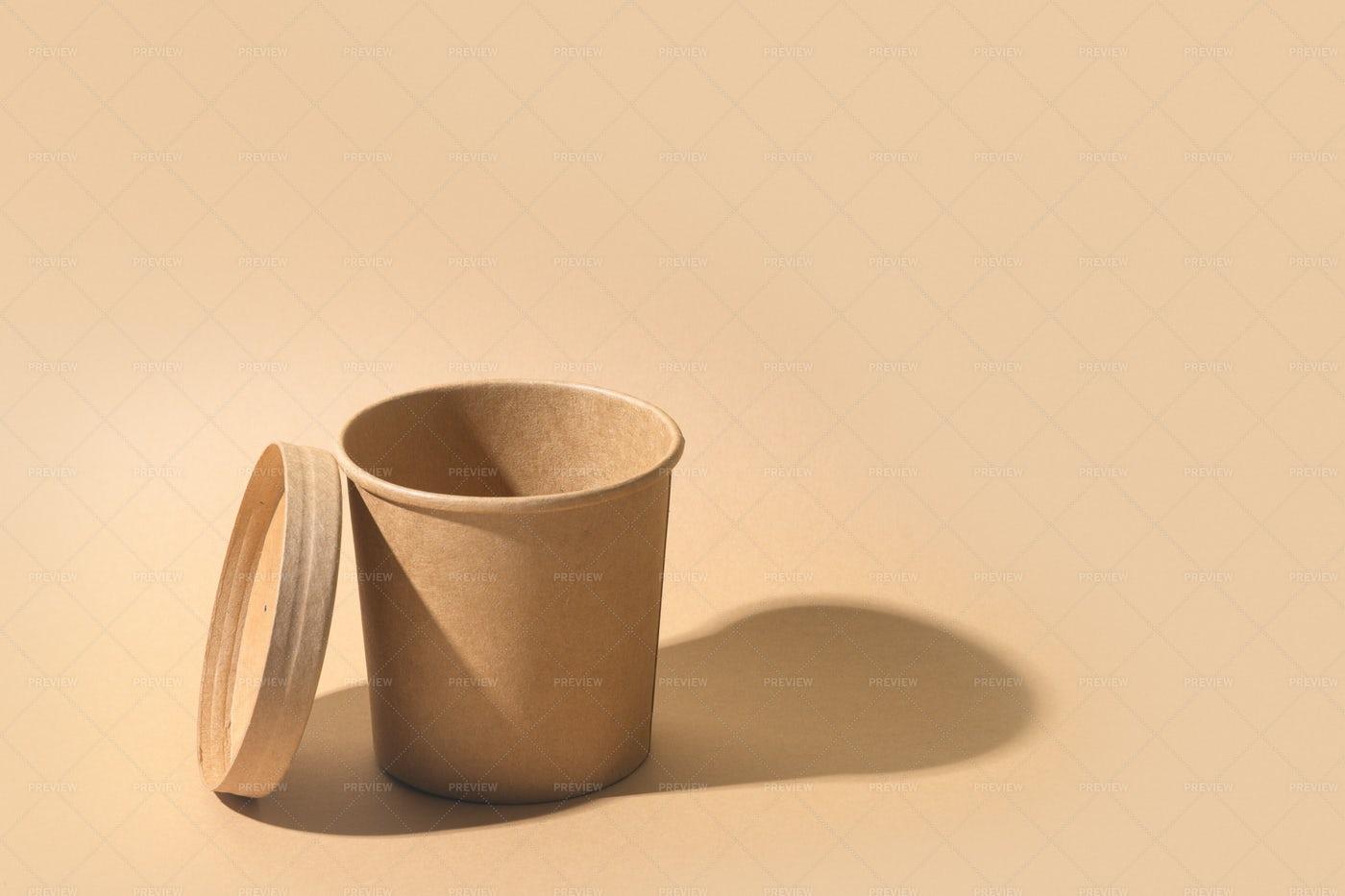 Craft Paper Cup: Stock Photos