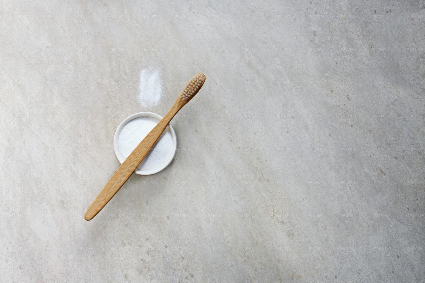 Bamboo Toothbrush: Stock Photos