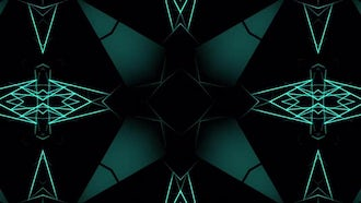 Geometric Kaleidoscope: Motion Graphics