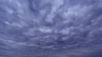 Dark Sky Stormy Clouds Timelapse: Stock Video