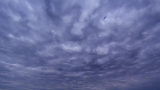 Dark Sky Stormy Clouds Timelapse: Stock Video