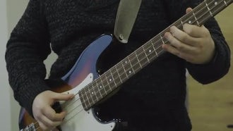 Man Playing The Guitar : Stock Video