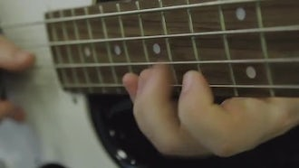 Hands Playing A Guitar : Stock Video