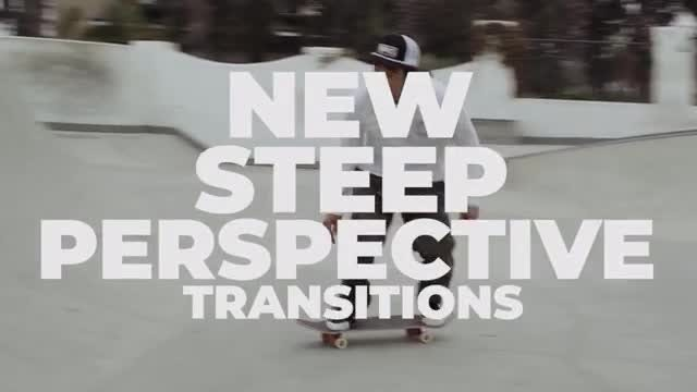 Perspective Transitions: Premiere Pro Templates
