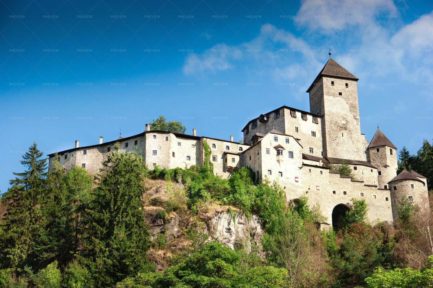 Castle Of Tures: Stock Photos