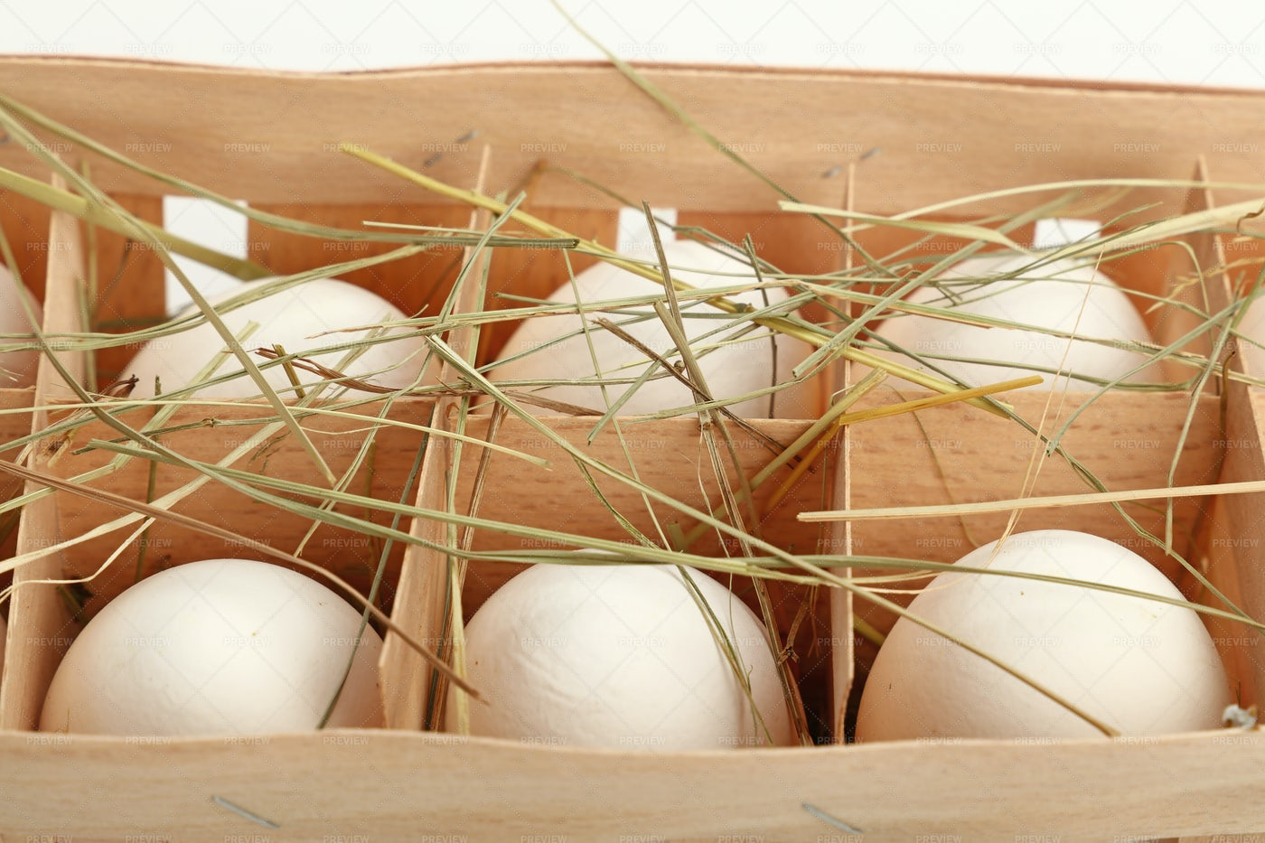 Eggs In Containers: Stock Photos