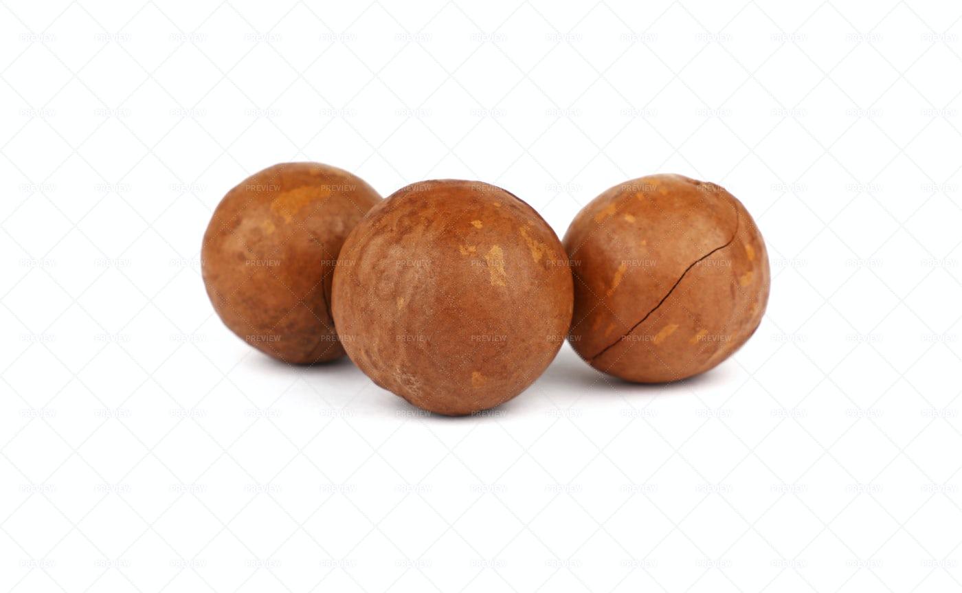 Macadamia Nuts: Stock Photos
