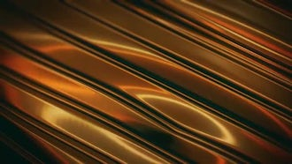 Gold Liquid Metal Surface: Motion Graphics