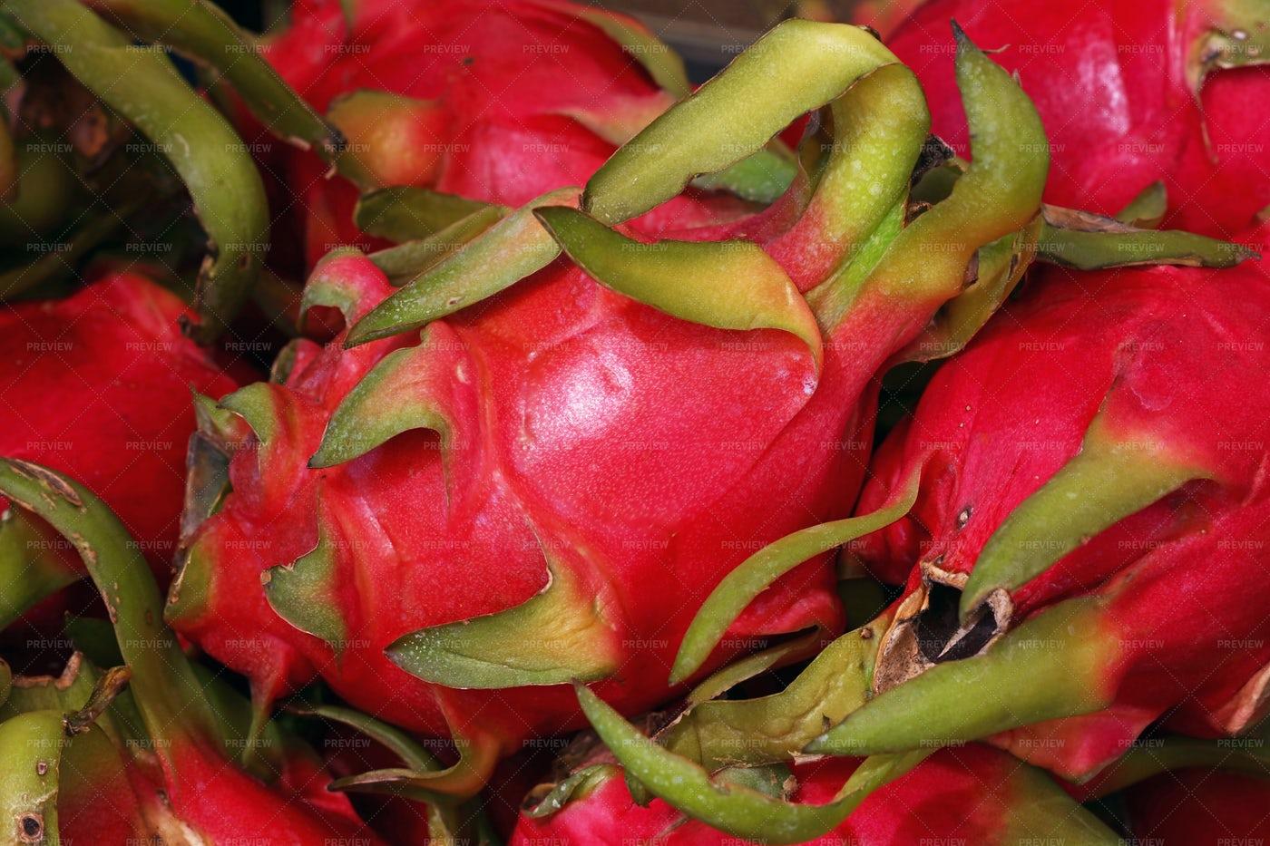 Pitahaya Dragon Fruit: Stock Photos