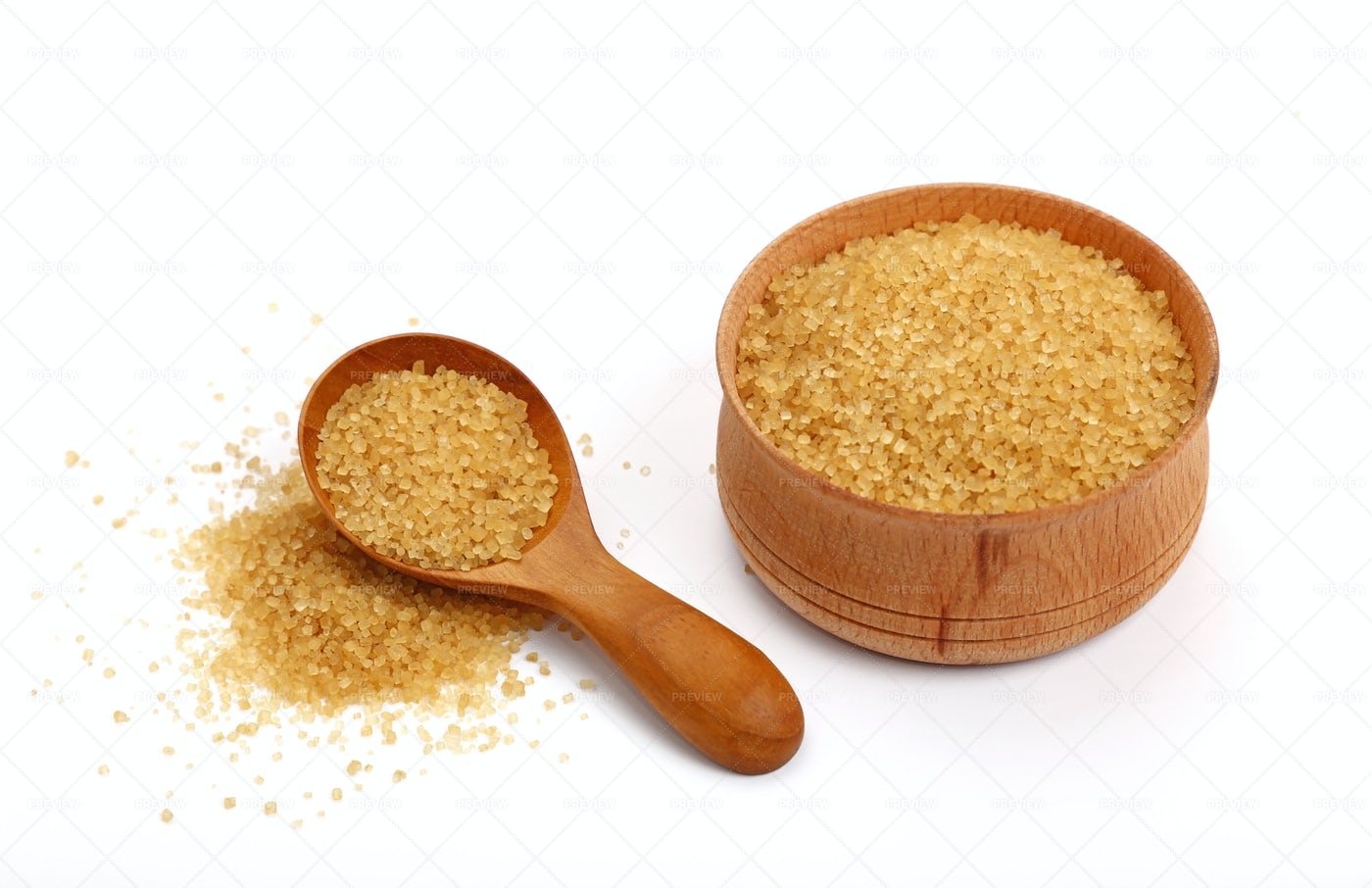 Tasty Brown Sugar: Stock Photos
