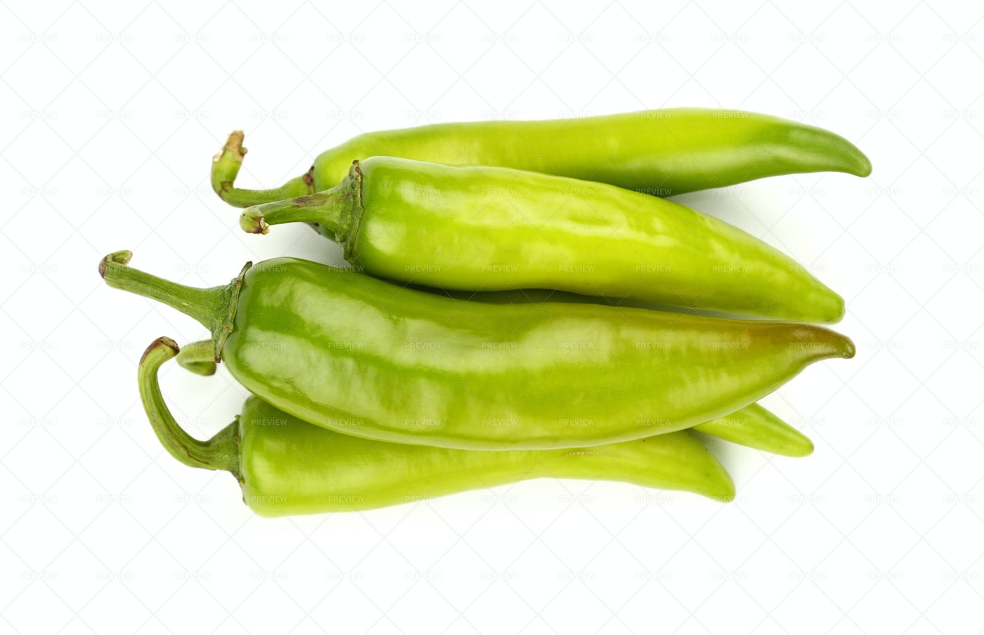 Green Jalapeno Peppers: Stock Photos