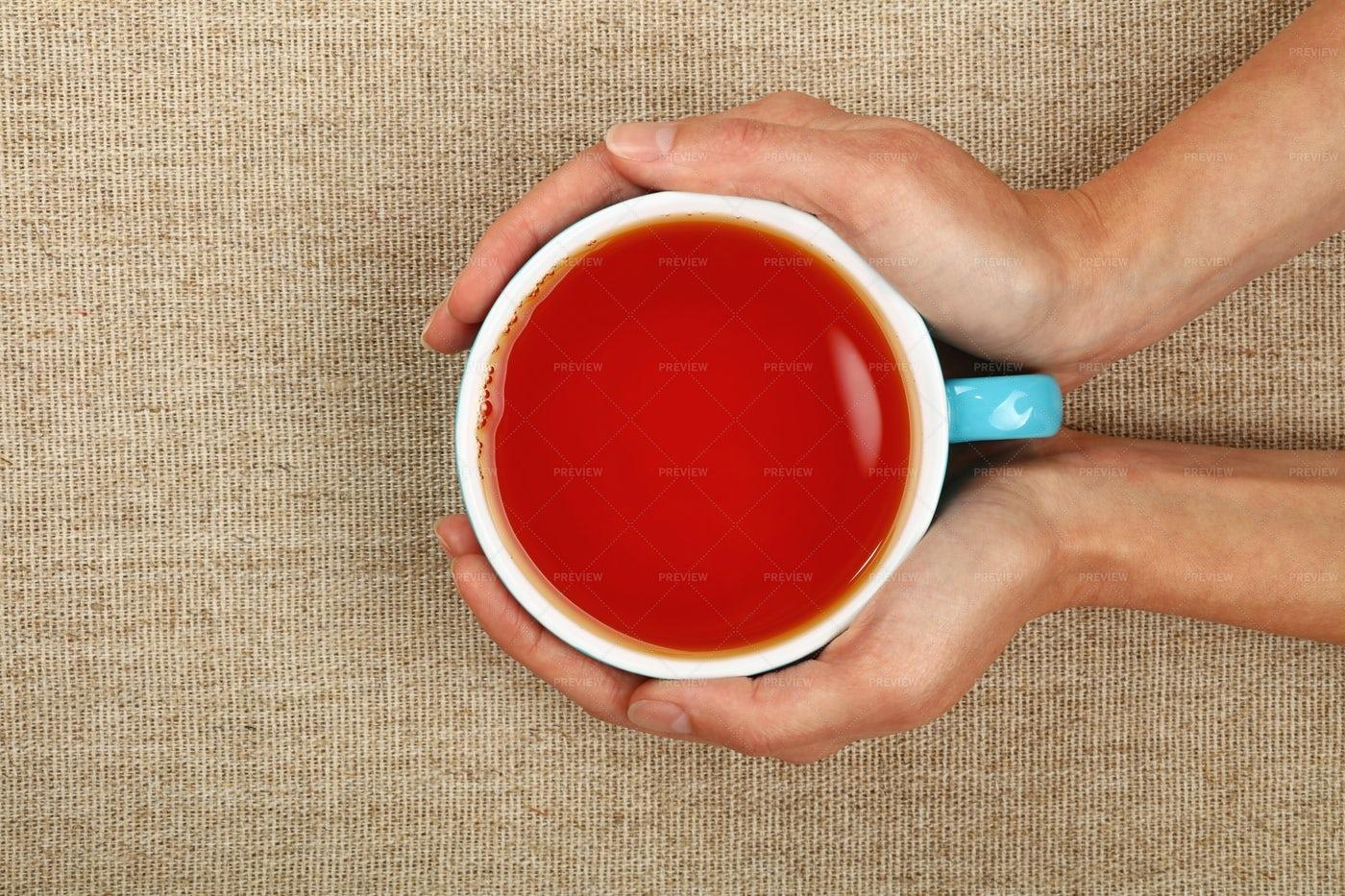 Hot Black Tea: Stock Photos