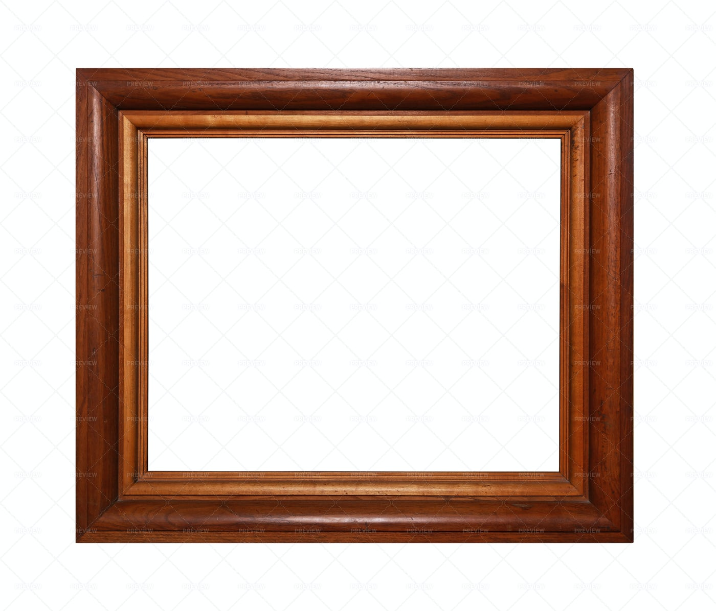 Wooden Picture Frame: Stock Photos