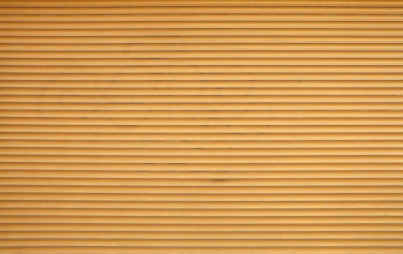 Brown Roller Shutter Blinds: Stock Photos