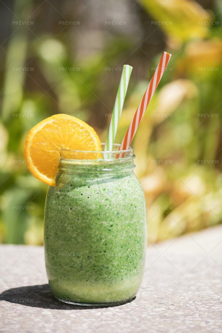 Green Smoothie: Stock Photos