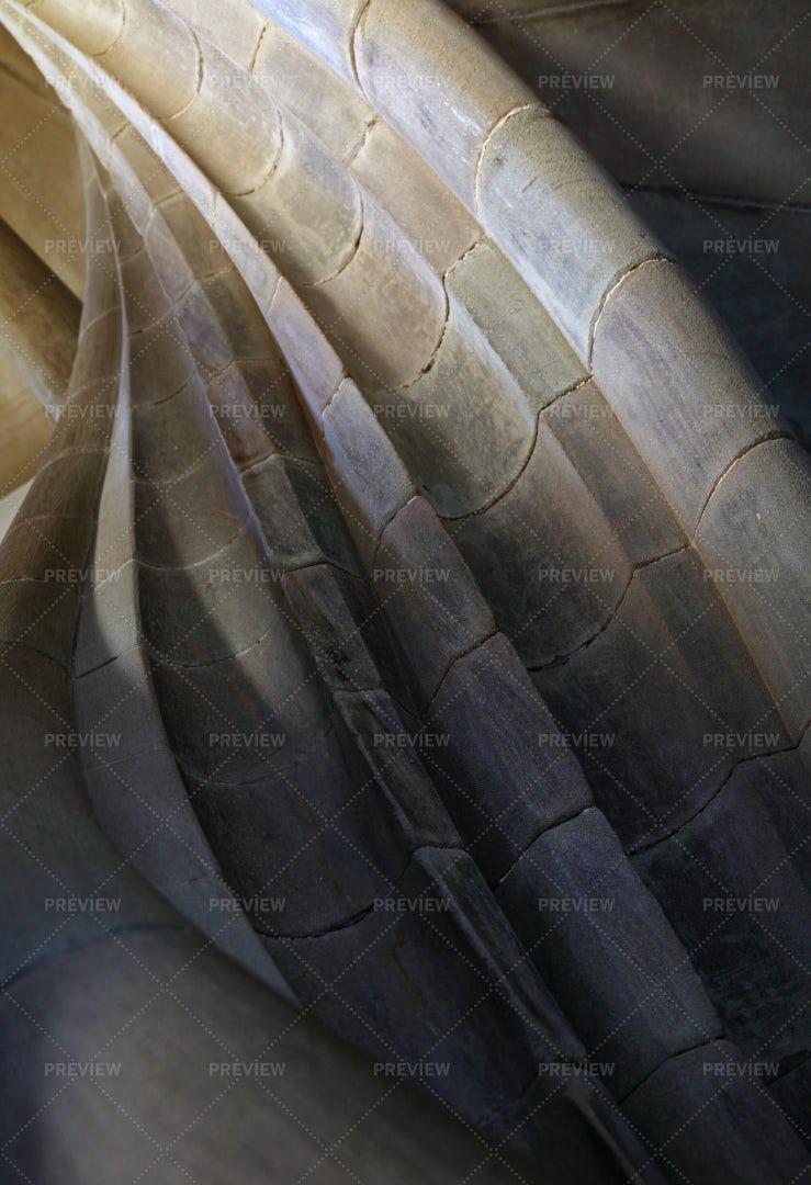 Spiral Stone Staircase Detail: Stock Photos