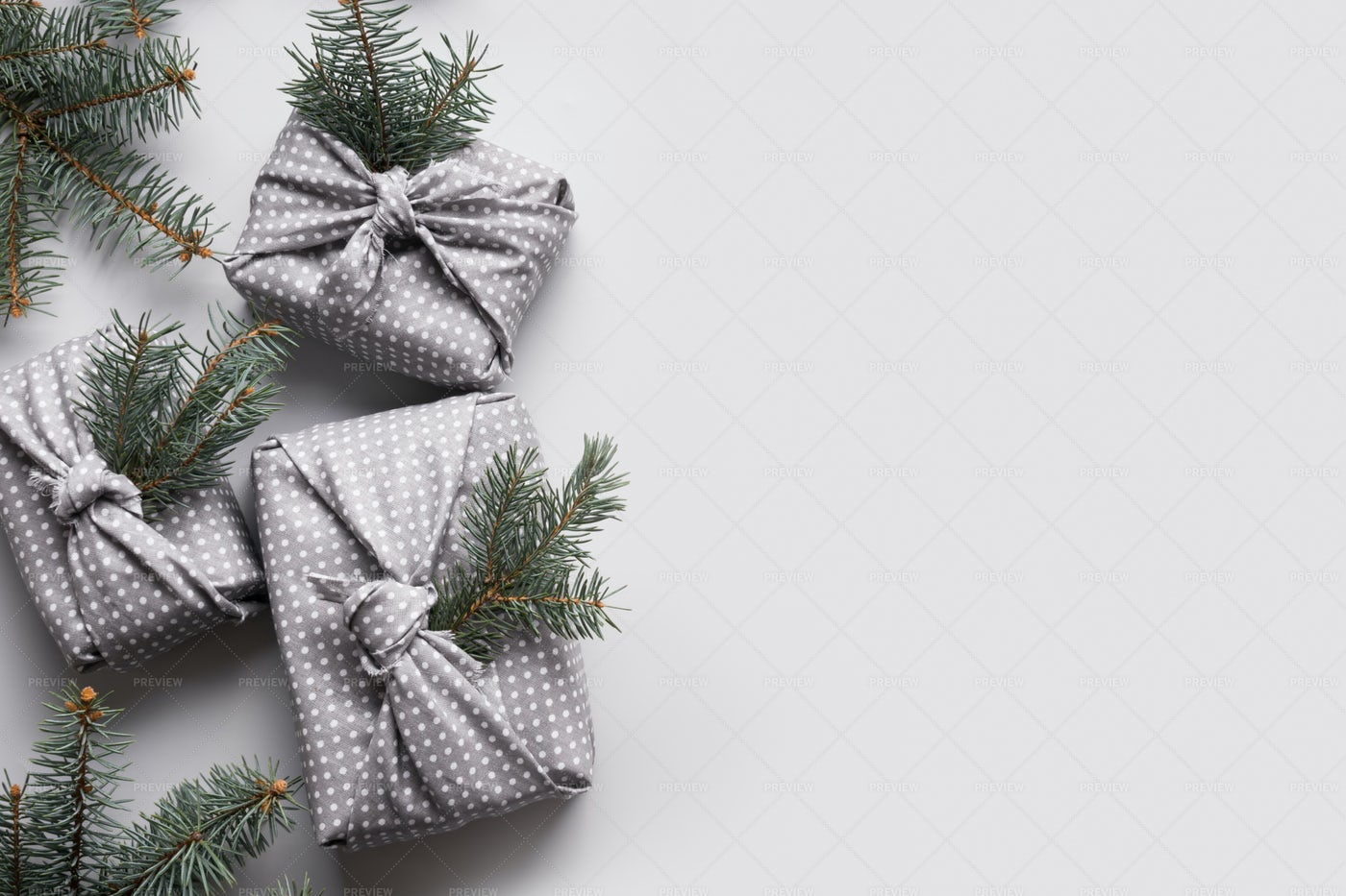 Sustainable Christmas Gifts: Stock Photos