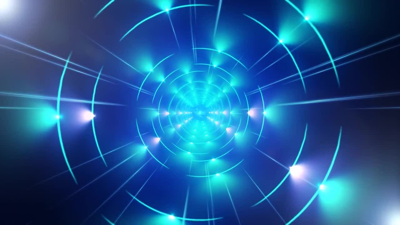 Tron Light Tunnel Stock Motion Graphics & Tron Light Tunnel - Stock Motion Graphics | Motion Array