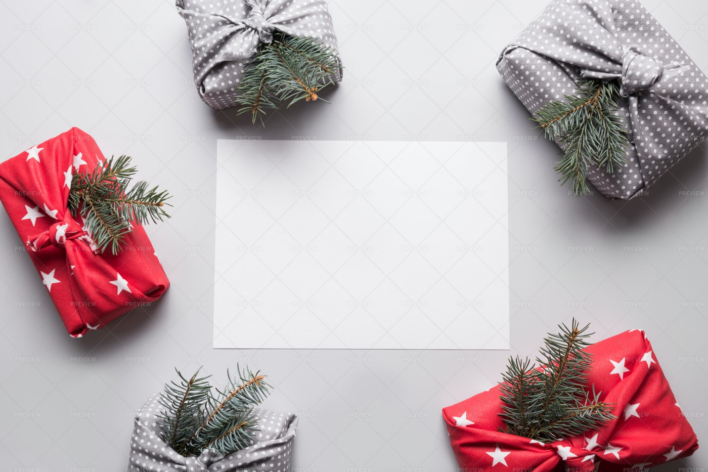 Eco-Friendly Christmas Gifts: Stock Photos