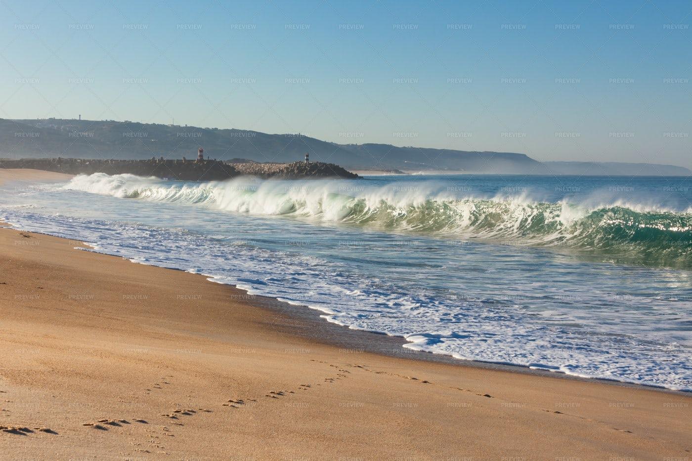 Sand And Ocean: Stock Photos