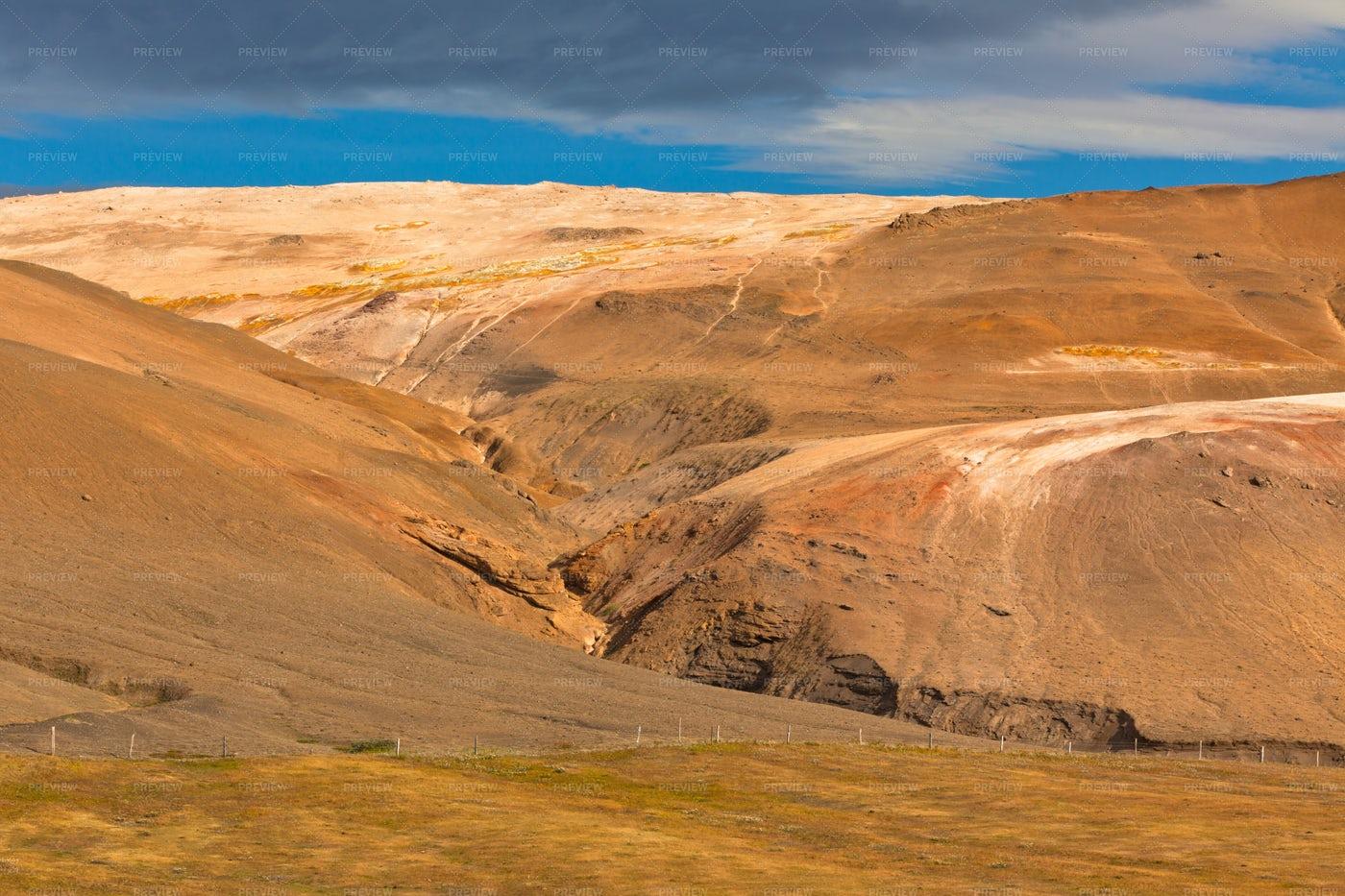 Iceland Mountain Landscape: Stock Photos