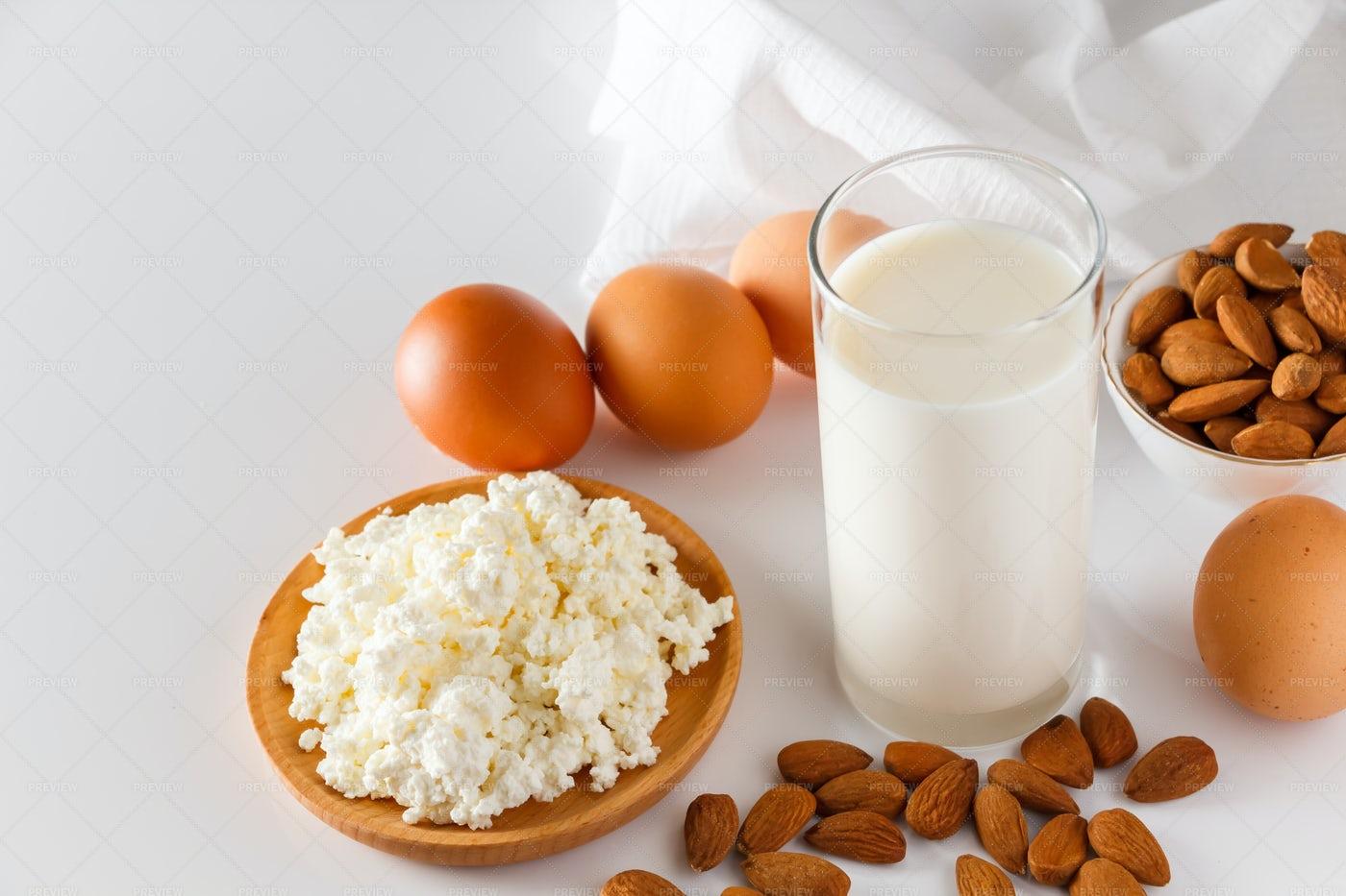 Types Of Protein: Stock Photos