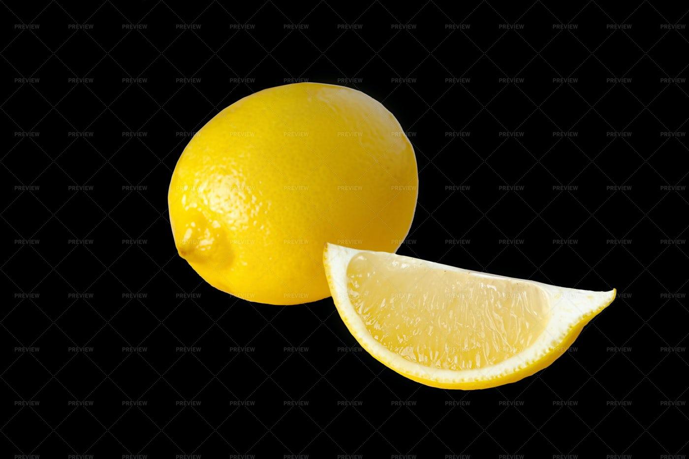 Ripe Lemon: Stock Photos