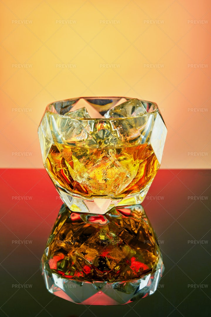 Goblet Of Quality Whiskey: Stock Photos