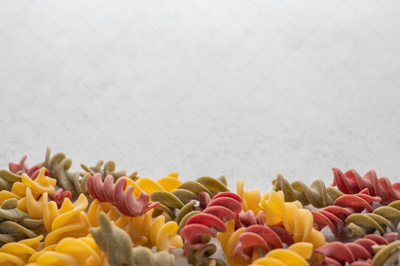 Colorful Pasta: Stock Photos
