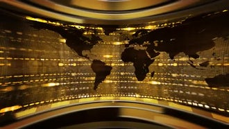 World News Background: Motion Graphics