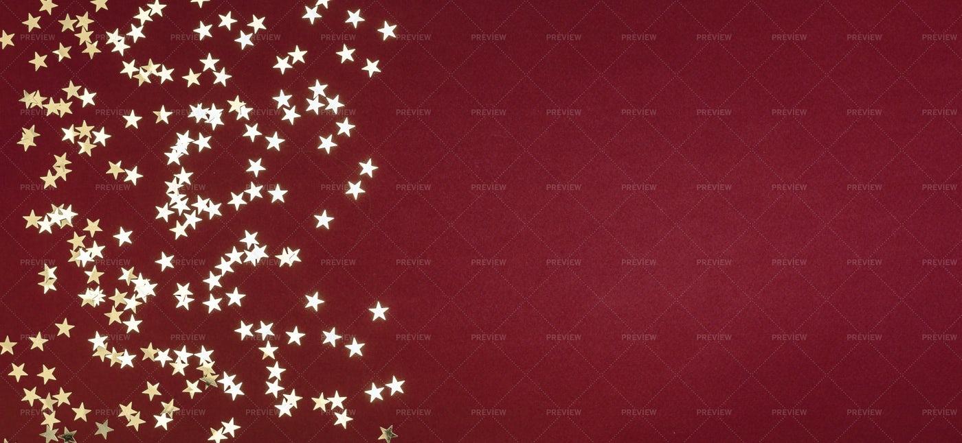 Glitter Stars: Stock Photos
