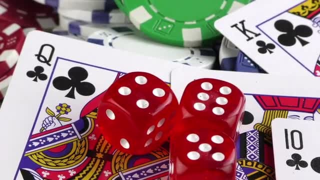 Gambling Pack : Stock Video