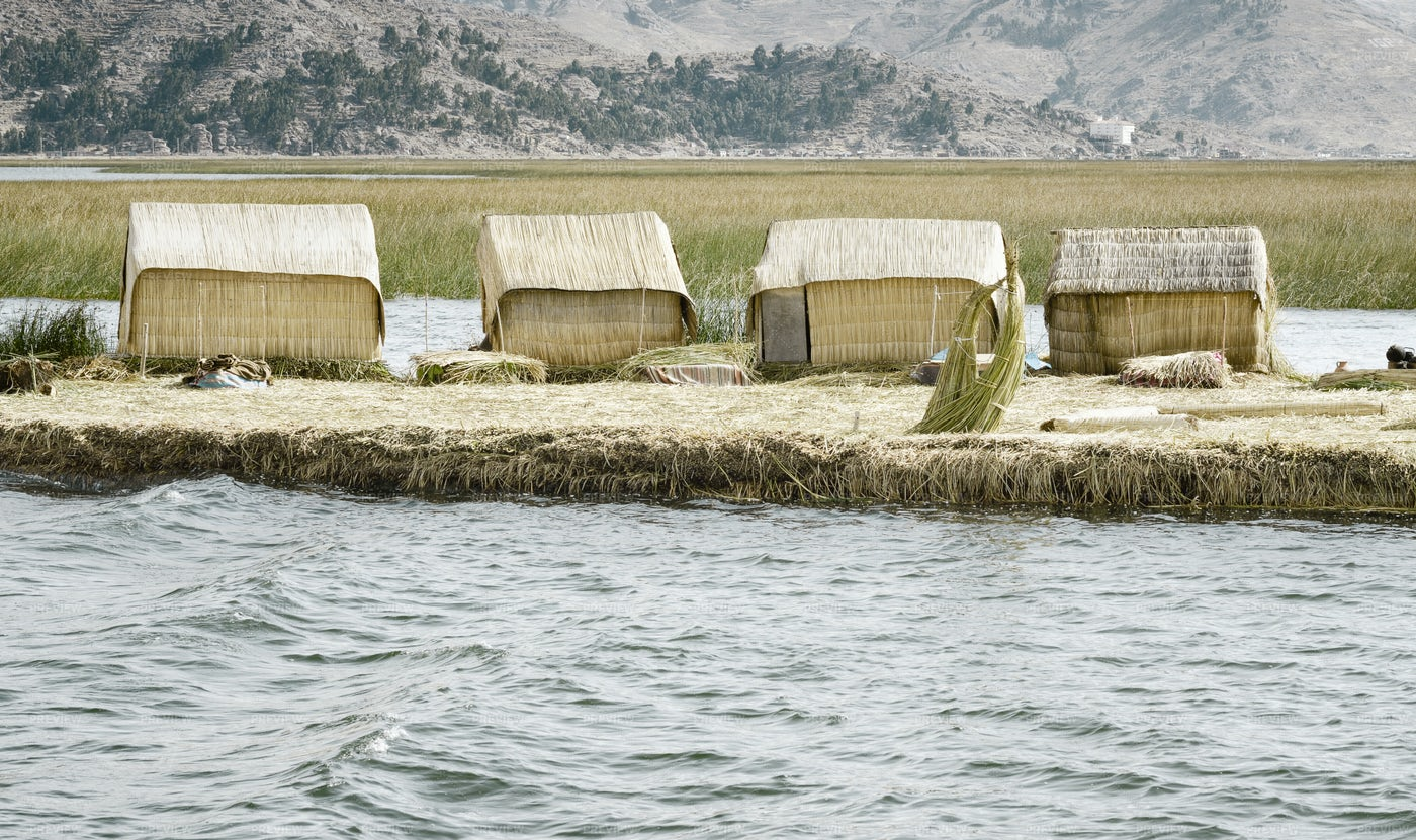 Uros Floating Islands: Stock Photos